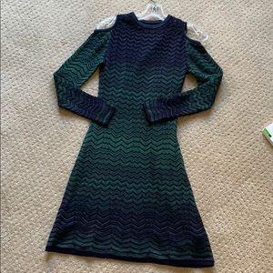 Missoni cold shoulder dress